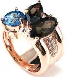 925純銀製のリングの銀のリングの宝石類の卸売R10540