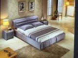 ベッドサイド・テーブルが付いている現代寝室の家具