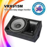 15 rectángulo profesional del altavoz del monitor de la etapa de la pulgada Vrx915m 8ohms