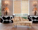 Tejido decorativo de interior de ventana Tejido de cortina de nido de abeja
