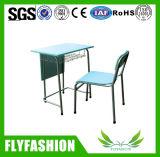 Tabela e cadeira de madeira do estudo para a mobília de escola (SF-69S)