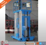 Hydraulische Luftarbeit-von der Luftplattform mit Vierrad
