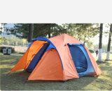 Im Freien vielseitige automatische Zelte, 4-8 Personen-kampierende Zelte