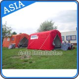 Tente gonflable durable de soulagement, Inflatablered Crosstent, tente gonflable de désastre