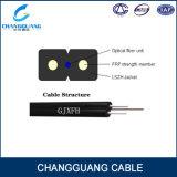2 lista de precios de interior GJXFH/Gjxh del cable de gota de la fibra de la base FTTH G652D