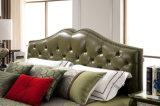 Modernes Bett des echten Leder-2016 für Schlafzimmer (Jbl2006)
