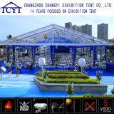 Grande tente de mur en verre de grande exposition durable extérieure de chapiteau