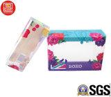A impressão Offset UV que dobra a caixa de empacotamento da bolha plástica, Foadable PVC/Pet/PP empola claramente as caixas de empacotamento impressas, caixas de empacotamento da bolha de Transpaernt