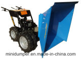Kt-Md300t Blue Four Wheeled Wheelbarrow Mini Dumper 4X4 All Gelände Buggies