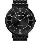 Cadeau unisexe résistant de montre d'acier inoxydable de montre de quartz de Dw de l'eau de qualité