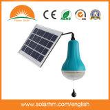 2W portátil de alta luminancia luz solar del LED con batería recargable incorporada de la batería para los países pobres uso en el hogar