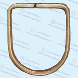 Anéis-D do metal da alta qualidade