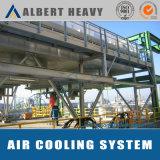 Sistema refrigerando de ar para o revestimento do pó