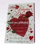 Tarjetas de papel de la Feliz Año Nuevo con nuevo diseño