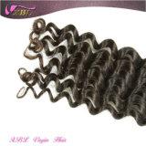 Aucune mauvaise odeur Piece complet cuticules vague profonde gros Brazilian Hair