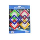 Magnetische Spielwaren ABS Ziegelsteine Magformers stellt Spielwaren-Kreativität-Intelligenz ein