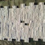 White&#160 puro; Pietra coltivata quarzite per muro