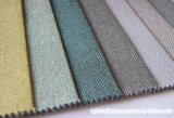 O linho gosta do poliéster decorativo tecido da tela do sofá