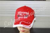 Emballage des chapeaux faits sur commande de sports avec la broderie lourde