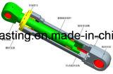 Cilindro dell'asta lavorato CNC del pezzo fuso dell'acciaio legato dell'OEM