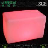 Taburete de barra de los muebles del cubo del LED