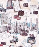 China confiaba en el papel pintado del vinilo del surtidor con buena calidad