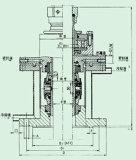 機械シールは有害なエージェント(206)に適用する