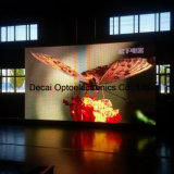 Affichage à LED de publicité flexible polychrome extérieur supplémentaire de SMD P6 Polonais léger