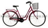 meninas bicicleta clássica de 3 da velocidade inter do nexo 700c com a bicicleta holandesa da cidade da bicicleta de Oma da cesta