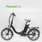 """"""" E-Bici plegable eléctrica de la rueda de disco 20 con el acceso del USB (TDN13Z)"""