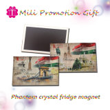 PVC Phantom Crystal Fridge Magnet Promotion Magnetic del commercio all'ingrosso 54X80mm