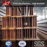 Fascio standard della struttura d'acciaio H del grado A36 W8X21 di ASTM