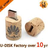 Привод вспышки USB пробочки красного вина деревянный (YT-8130L)