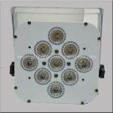 건전지를 가진 7/9/12PCS 4in1 LED 동위 비용을 부과 빛