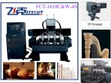 Router quente Machine do CNC do CNC 1618-C&W 3D 4 Axis Carving Milling Engraving Wood de Sale com Good Price