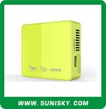2016 mini kleiner Pico LED Projektor-Palmen-Größe DLP-Projektor einfach zu tragen (SMP50)