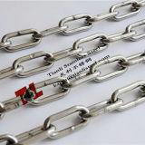 304 316ステンレス鋼DIN763の長いリンク・チェーンDia 4mm