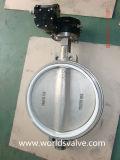 Válvula de borboleta do aço inoxidável CF3m