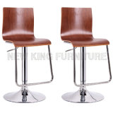A melhor cadeira feita sob encomenda de venda da barra da qualidade de Hight com bases do tamborete de barra do metal (NK-BCB005)