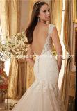Robe de mariée Mori Lee Morilee Satin Tulle Mermaid dentelle rose pâle (Dream-100069)