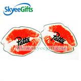 أحمر قبلة معدن شامات