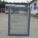 Алюминиевое стеклянное окно штарки с мотылевым замком K09016
