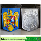 Герб страны экрана, Custom Metal Coat Arms