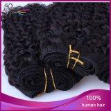 7A Curly brésilien Cheap Vigin Emy Human Hair Weft