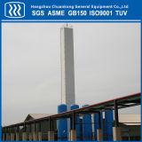 Usine cryogénique de séparation de rétablissement de gaz d'ASP