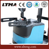 O empilhador elétrico do alcance de Ltma 1.5t pode trabalhar no recipiente