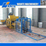 Wante Machinery Qt4-25 Hydraulic Pressed Fully Automatic Hollow/Solid/Interlocking/Concrete Brick Machine Price für Sale