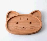 FDA Certificationの自然なCartoon Wooden Creative Children Apartment Tray