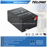 6V4ah Rechargeable Sealed Lead Acid Battery voor UPS