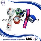 Bande faite sur commande de logo de couleur estampée par fond clair